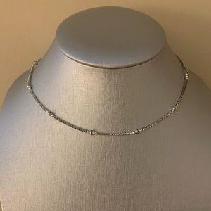 Lucky Brand | Silver Choker Necklace
